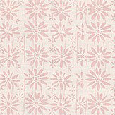 Belynda Sharples Linen Union Daisy 03 Pink Fabric
