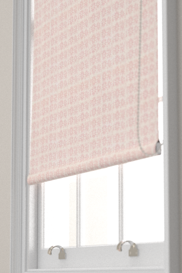 Belynda Sharples Linen Union Daisy 03 Pink Blind - Product code: BS-LU-DAI-03