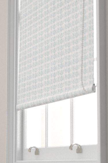 Belynda Sharples Linen Union Daisy 04 Blue Blind - Product code: BS-LU-DAI-04