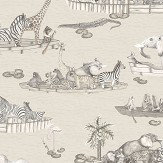Cole & Son Zambesi Neutral Wallpaper - Product code: 109/14062