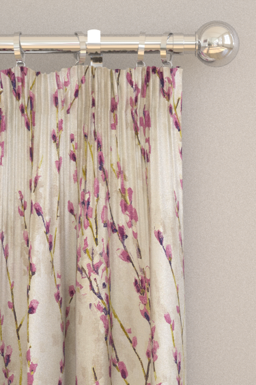 Salice Curtains By Harlequin Plum Wallpaper Direct