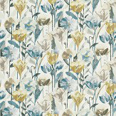 Harlequin Verdaccio Mustard, Maize & Seal Fabric - Product code: 120522