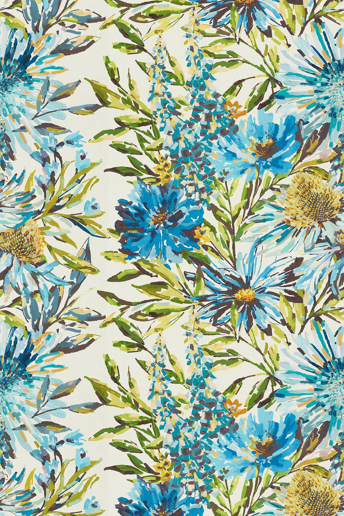 Floreale by Harlequin - Turquoise, Ocean & Marine - Fabric ...