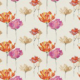 Harlequin Pennello Sunset, Fuchsia & Jute Fabric - Product code: 131844