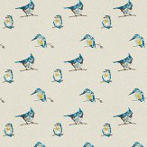 Harlequin Persico Indigo, Lime & Sky Fabric - Product code: 131846
