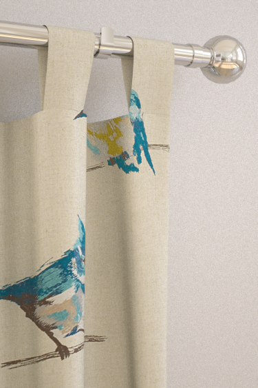 Persico Curtains By Harlequin Indigo Lime Amp Sky