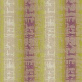 Harlequin Flux Plum & Gooseberry Fabric - Product code: 131856