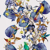 Osborne & Little Rain Forest Amethyst / Bronze Wallpaper - Product code: W7026/02