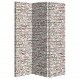 Arthouse Rustic Brick Room Divider