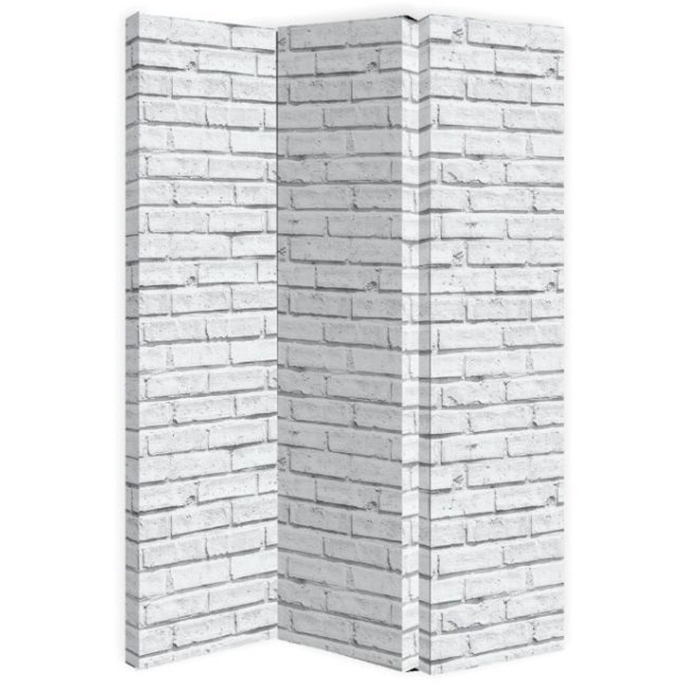 White Brick Room Divider - by Arthouse