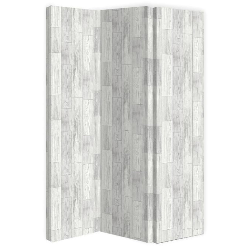 Salcombe Wood Room Divider - White - by Arthouse
