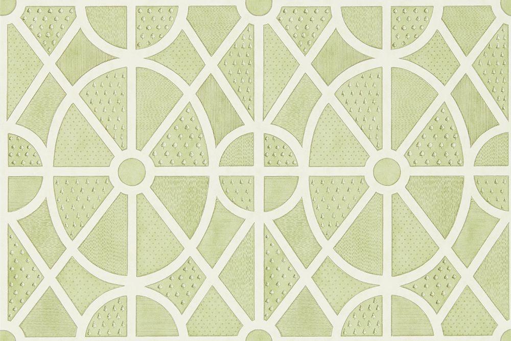 Sanderson Garden Plan Garden Green Wallpaper main image