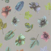 Osborne & Little Woodland Mint / Blue / Rose / Silver Wallpaper - Product code: W7020/02