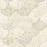 The Paper Partnership Paxhill Beige / Gold Wallpaper