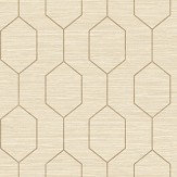 The Paper Partnership Kemptown Beige / Brown Wallpaper