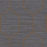 Elizabeth Ockford Kemptown Blue / Copper Wallpaper - Product code: WP0080806