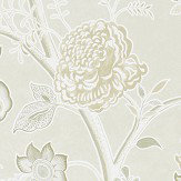 Sanderson Shalimar Ivory / Stone Wallpaper - Product code: 216308