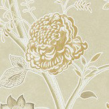 Sanderson Shalimar Linen / Sepia Wallpaper - Product code: 216309
