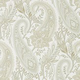 Sanderson Cashmere Paisley Mineral / Taupe Wallpaper