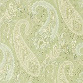Sanderson Cashmere Paisley Garden Green Wallpaper - Product code: 216320