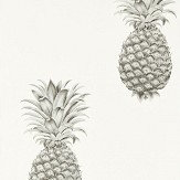 Sanderson Pineapple Royale Silver / Ivory Wallpaper