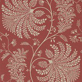 Sanderson Mapperton Russet / Cream Wallpaper - Product code: 216339