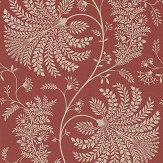 Sanderson Mapperton Russet / Cream Wallpaper - Product code: 216339