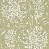 Sanderson Mapperton Garden Green / Cream Wallpaper - Product code: 216340