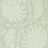 Sanderson Mapperton Sage / Cream Wallpaper - Product code: 216341