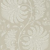 Sanderson Mapperton Linen / Cream Wallpaper