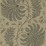 Sanderson Mapperton Charcoal / Gold Wallpaper - Product code: 216344