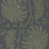 Sanderson Mapperton Graphite / Gilver Wallpaper - Product code: 216345