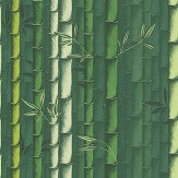 Osborne & Little Bamboo Emerald Wallpaper - Product code: W7025/01