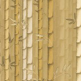 Osborne & Little Bamboo Mustard Wallpaper - Product code: W7025/02