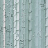 Osborne & Little Bamboo Aqua Wallpaper - Product code: W7025/03