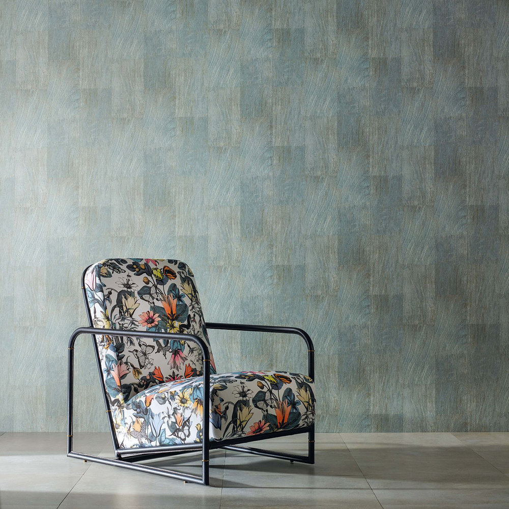 cedarosborne & little - verdigris : wallpaper direct