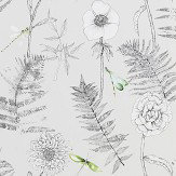 Designers Guild Acanthus Graphite Wallpaper