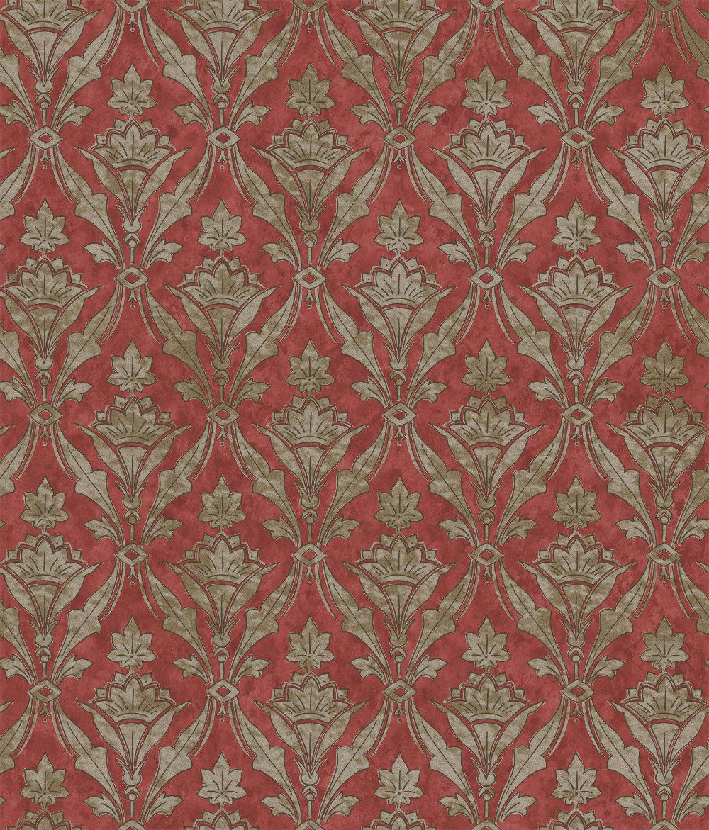 Little Greene Borough High St Beet Wallpaper - Product code: 0251BHBEETZ