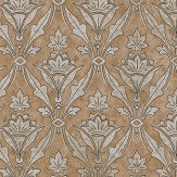 Little Greene Borough High St Gold Wallpaper