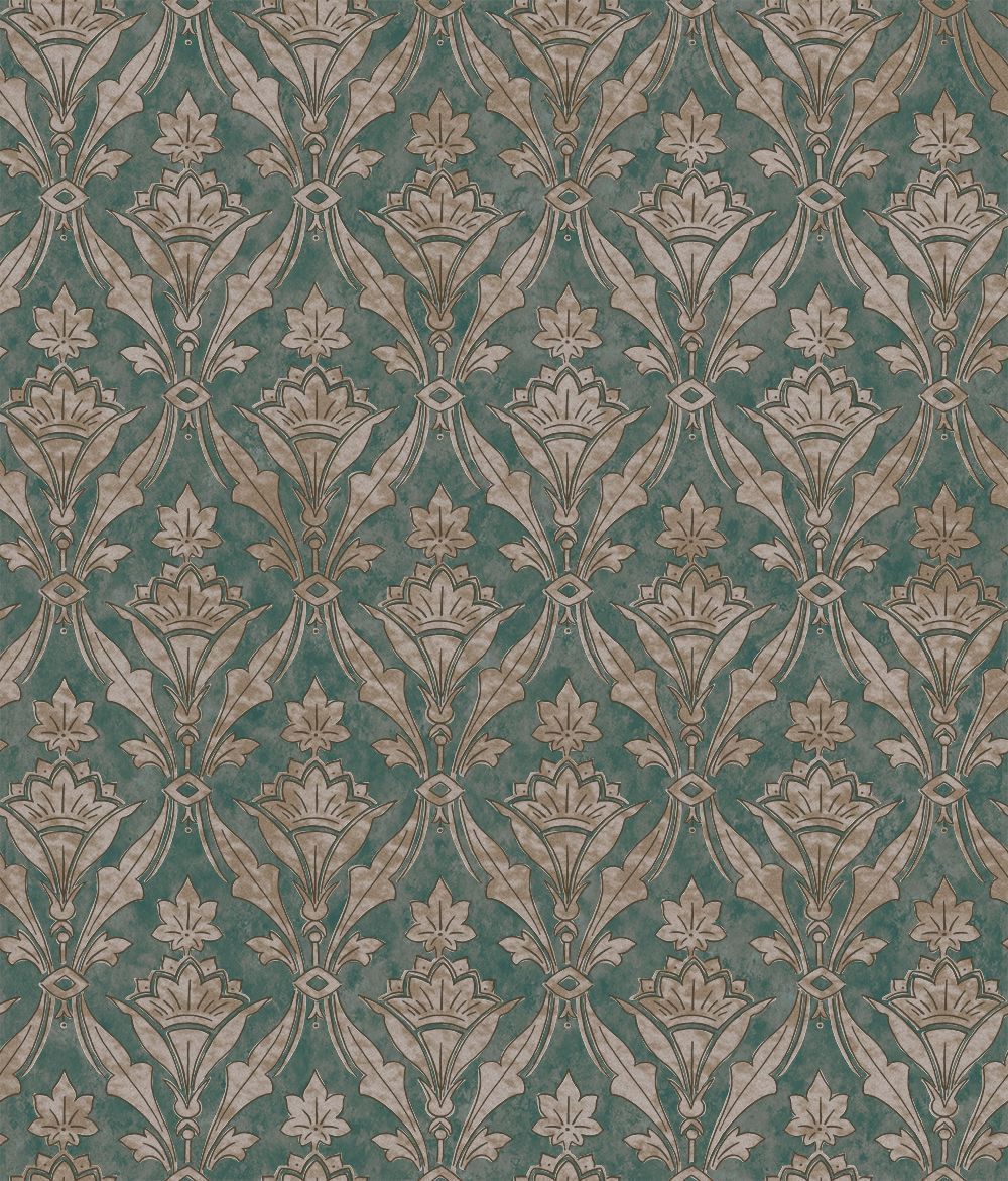 Little Greene Borough High St Weld Wallpaper main image