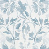 Designers Guild Patanzzi Slate Blue Wallpaper