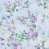 Designers Guild Faience Sky Wallpaper