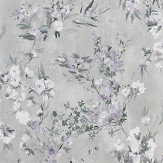 Designers Guild Faience Silver Wallpaper