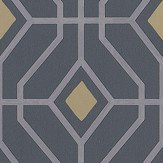 Designers Guild Laterza Graphite Wallpaper