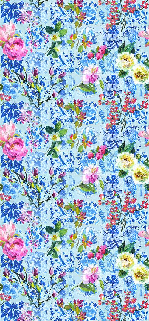 Designers Guild Majolica Cornflower Mural - Product code: PDG1028/01