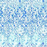 Designers Guild Arabesque Cobalt Mural