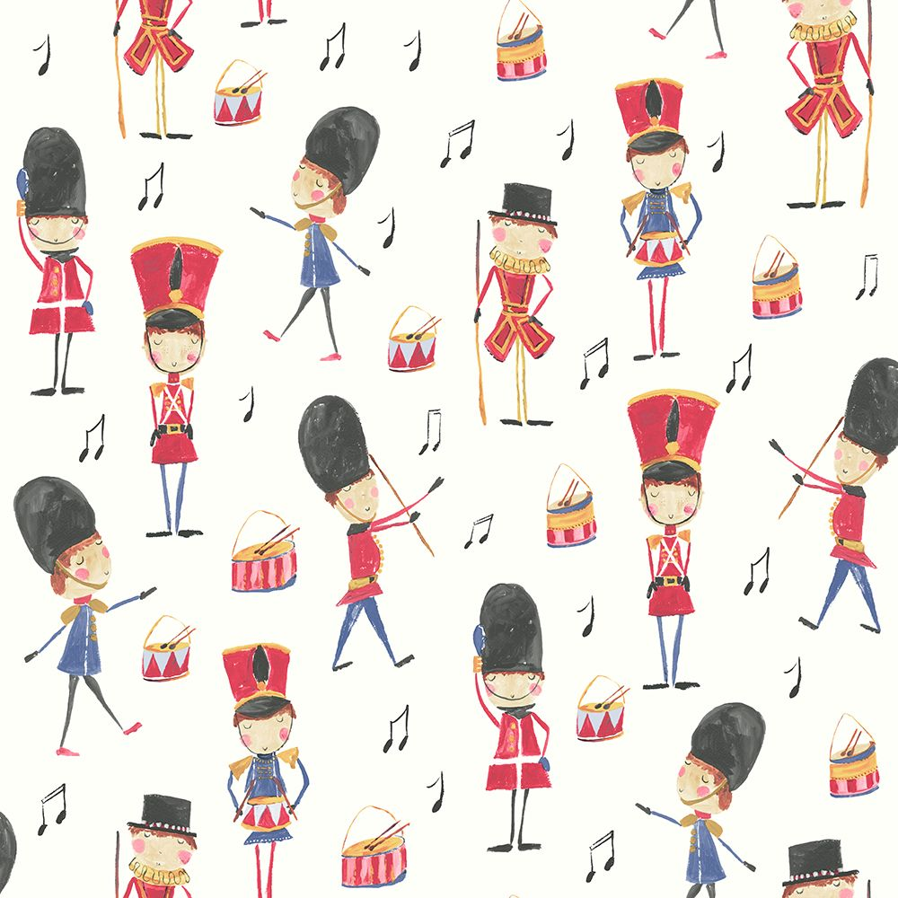 Arthouse Drummer Boy Multi Wallpaper main image