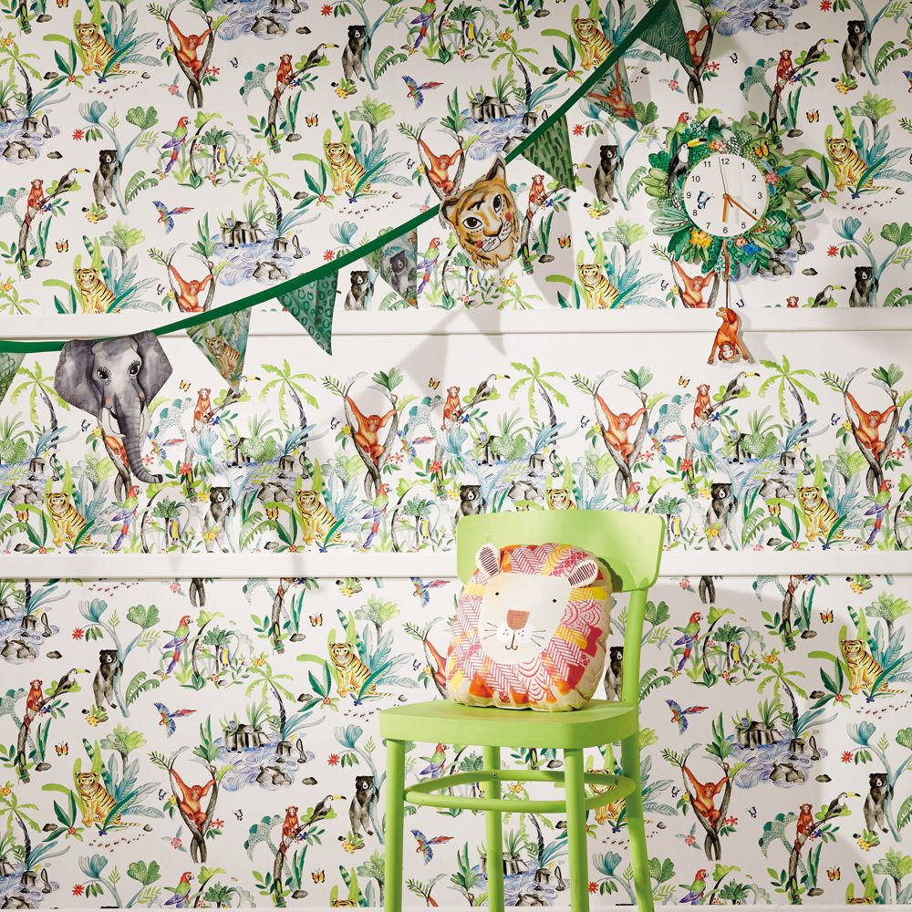 Arthouse Jungle Mania Multi Wallpaper - Product code: 696008