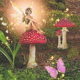 Arthouse Magic Garden Multi Wallpaper