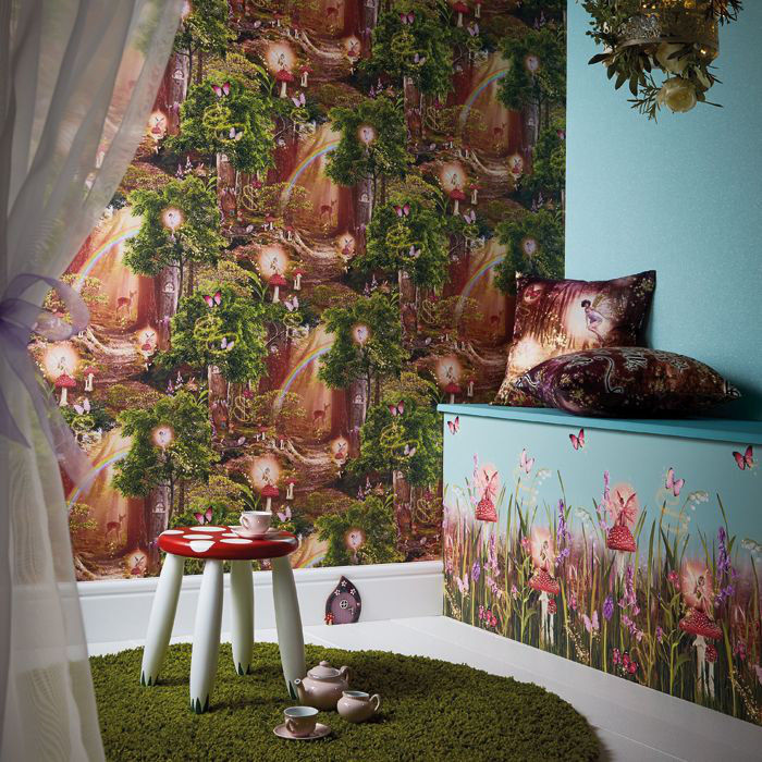 Arthouse Magic Garden Multi Wallpaper - Product code: 696009